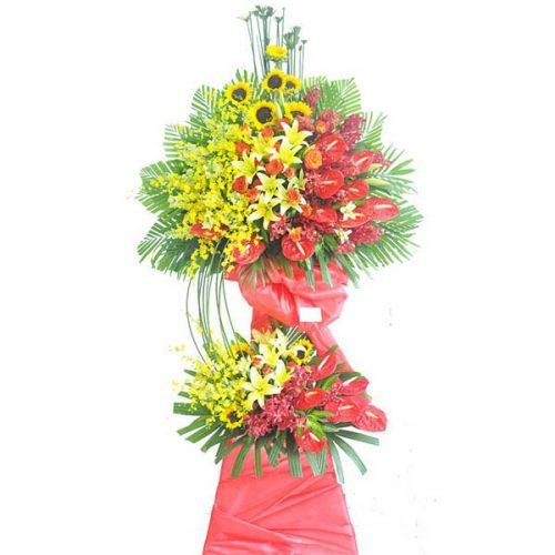 Khai trương tiệm may nên chúc mừng hoa gì?